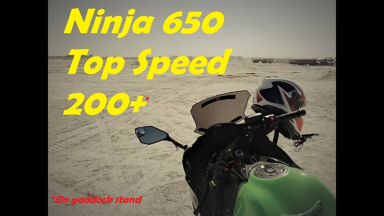 Kawasaki Ninja 650 Top Speed Superbike Speed Test