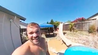 JUMP INTO WATER GONE WRONG fails pt.10 [FailForceOne]