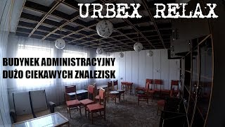 Opuszczony budynek administracyjny i sporo wyposażenia - Urbex Relax