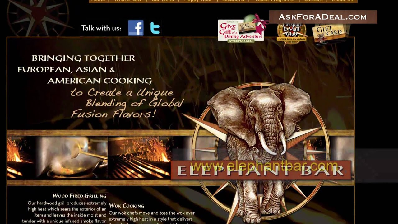 Elephant Bar Coupons -...