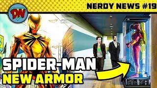 Infinity War Deleted Scene, 24 Hammers of Thor, Shazam Easter Egg, Disney Fox Deal   Nerdy News #19