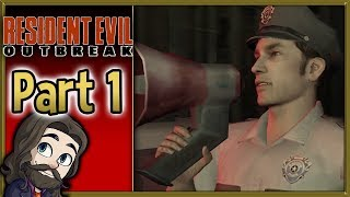 Outbreak! - Resident Evil Outbreak ONLINE Co-op Multiplayer Gameplay - Part 1 Let