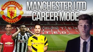 FIFA 14 MANCHESTER UNITED CAREER MODE! #1 Louis Van WHO?! Fifa 14 Career Mode Series