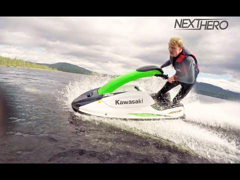 Jet Skiing on Mountain Lake in Norway!