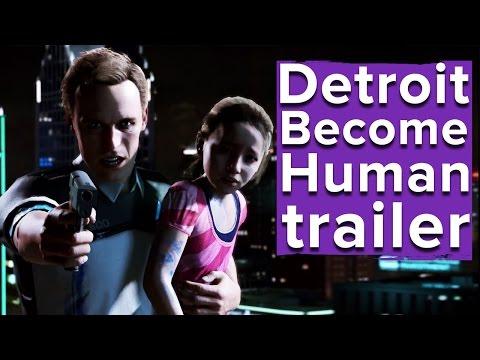 Detroit: Become Human Trailer - PlayStation E3 2016