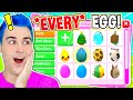OPENING One Of *EVERY* Adopt Me EGG EVER!! EXPENSIVE Roblox Adopt Me Unboxing With RAREST EGGS!!