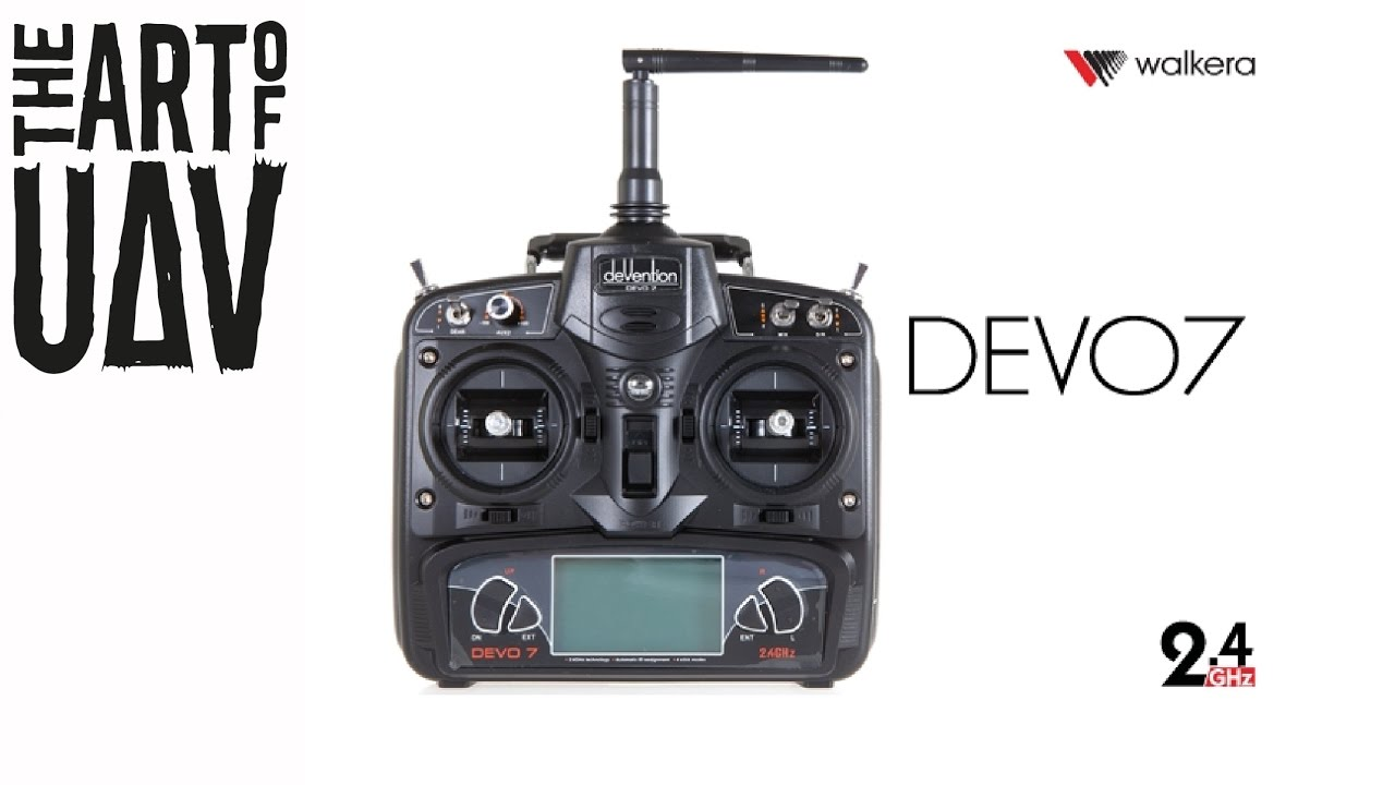Walkera Devo 7 Controller Configuration Settings For Runner 250 Pro Youtube