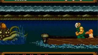 Splatterhouse 2 Final Level and Ending