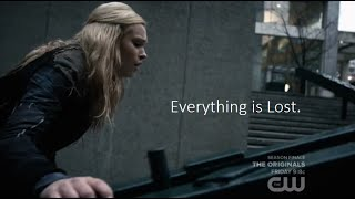 clexa au   everything is lost