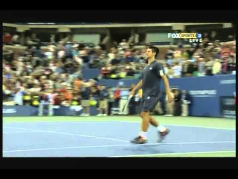McEnroe vs Djokovic - Serve and Volley