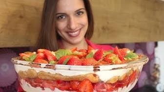 fruchtiges und einfaches Erdbeer-Tiramisu-Rezept / Sallys Welt