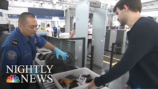 JFK Security Breach: Unscreened Passengers Able To Board Flights At NYC Airport | NBC Nightly News