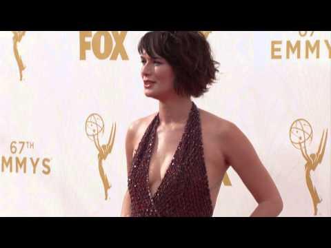 Lena Headey Arrivals Emmys 2015