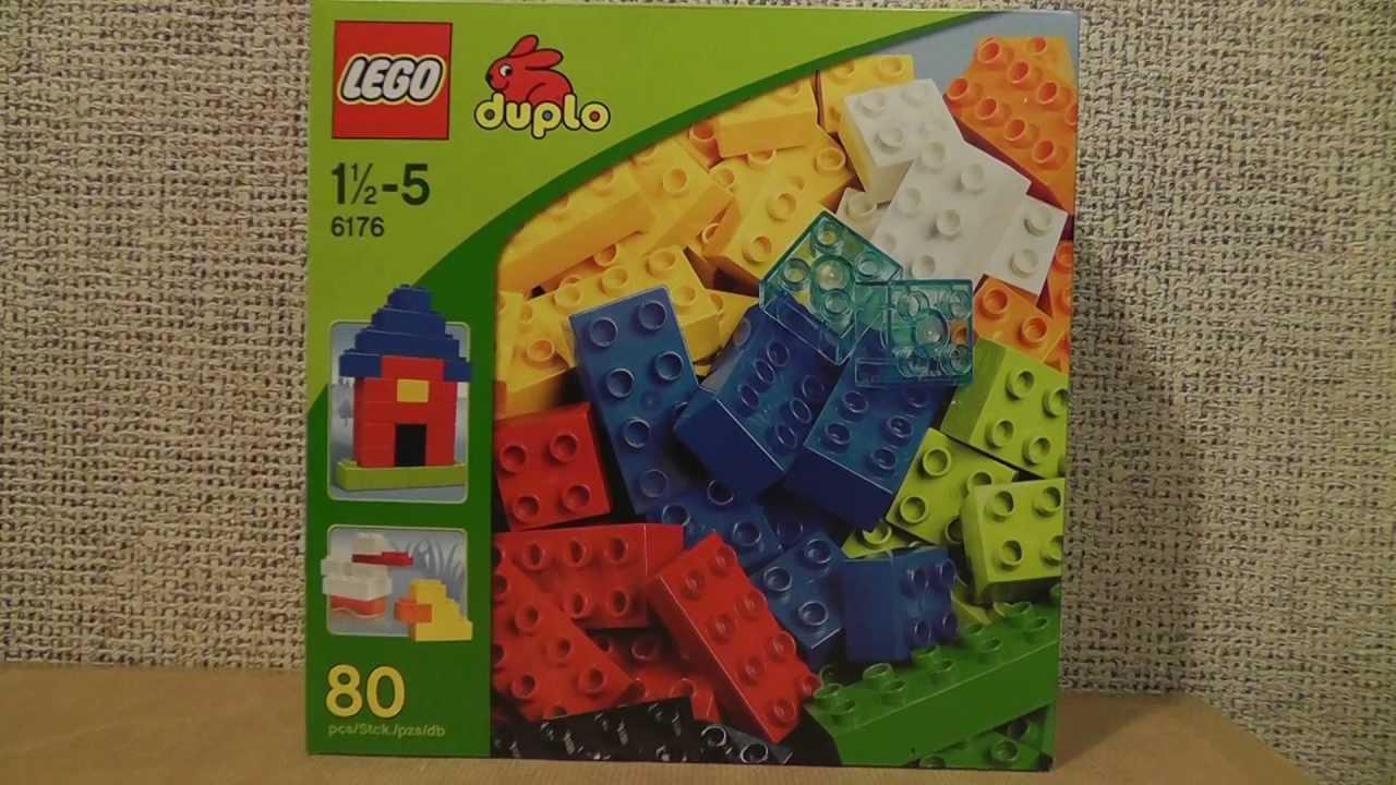 Lego Duplo 6176 Podstawowe Klocki Deluxe Youtube