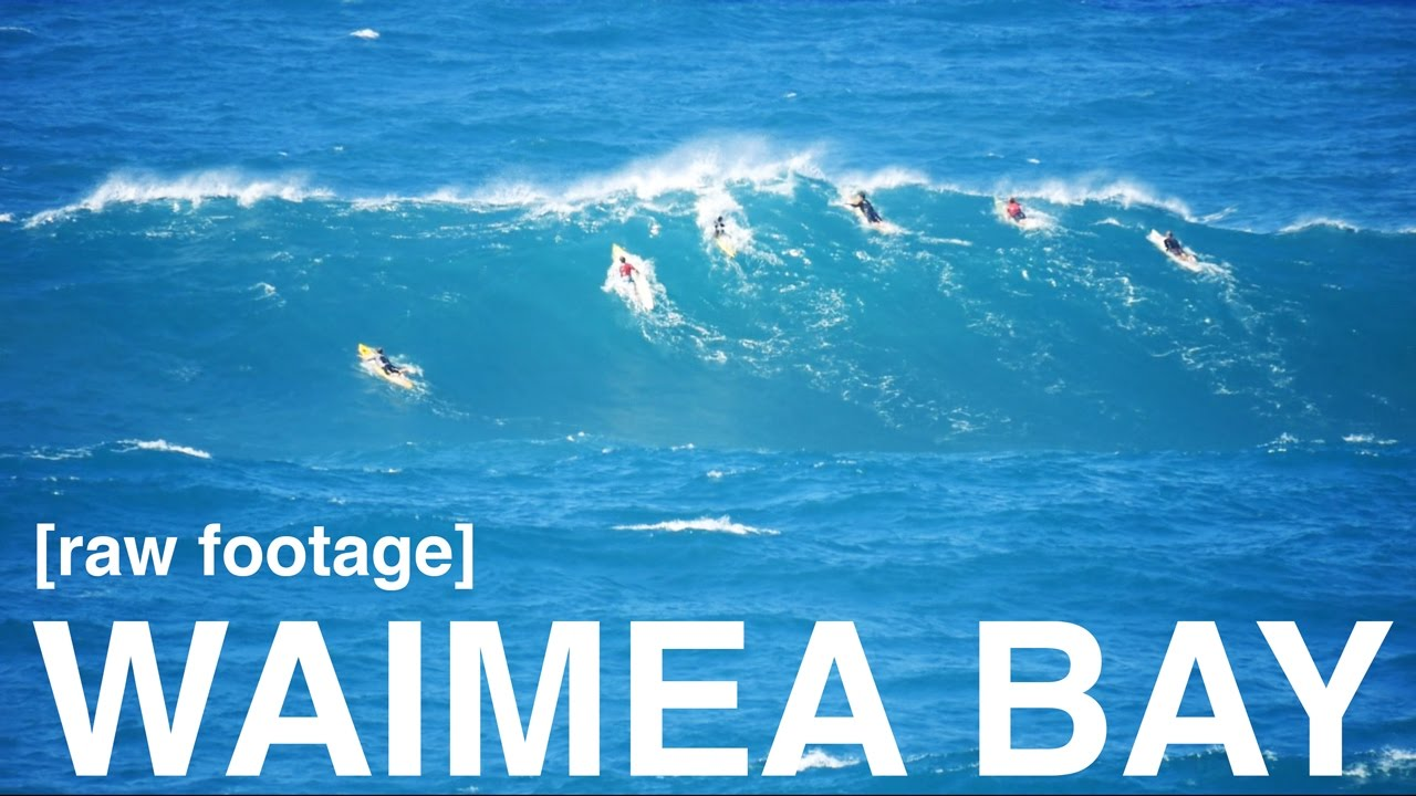 2c24f59baa raw footage  Waimea Bay Surfing - December 16th 2016 - YouTube