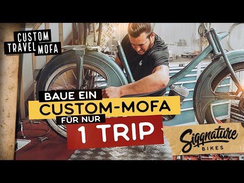 CUSTOM REISE-MOFA | Kompletter Umbau in nur 2 Wochen