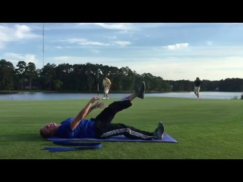 Golf Stretching Exercise Series | Lesson 8 | Buttock Stretch (Gluteal) and Hamstring Stretch