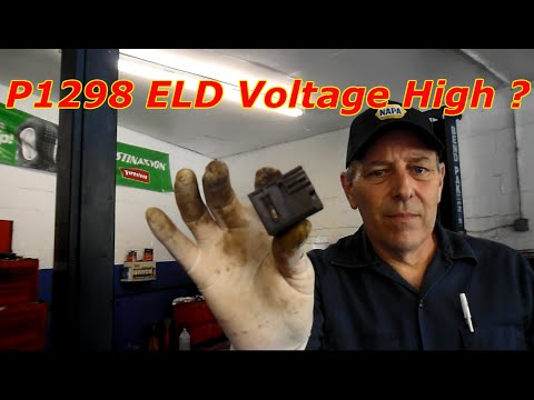 How To Repair A P1298 Electric Load detector code on A Honda - YouTube