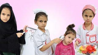 سوار تختار مهنة!!! |  Sewar Play w/ Toys and Chooses a New Profession
