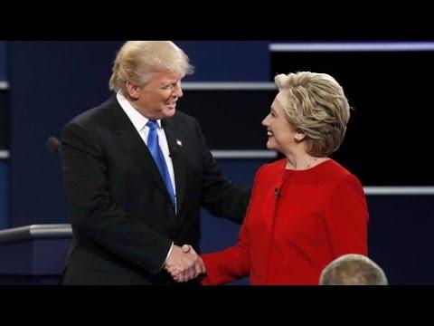 Adu Mulut Warnai Debat Capres Amerika Serikat