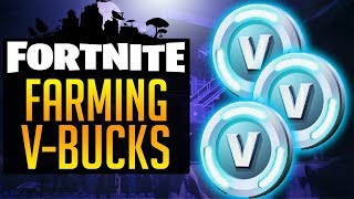 Farmando v-bucks Fortnite salve o mundo