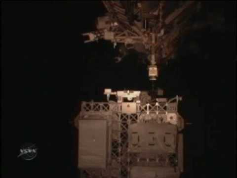 STS-129: ELC1 Installation (time lapse)
