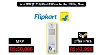 Kent PERK (11010) RO + UF Water Purifier (White, Blue)