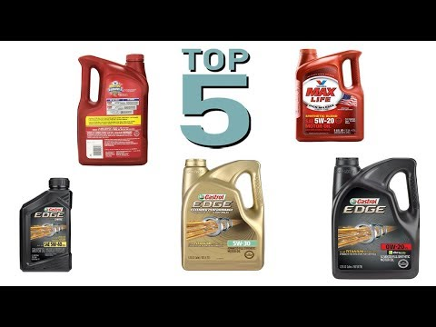 Top 5 Best Synthetic Oils 2018