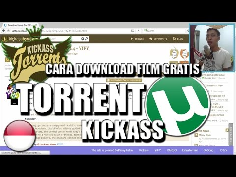Cara Download Film Gratis Dengan TORRENT ft. KICKASS