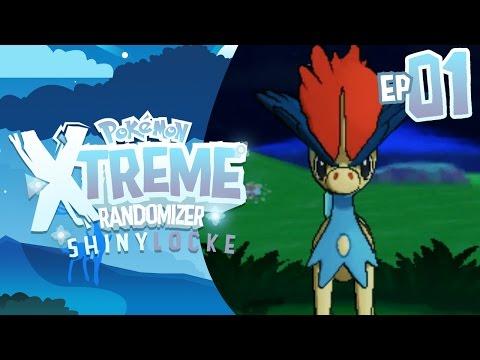LEGENDARY ENCOUNTERS! Pokemon XTREME Randomizer ShinyLocke! Episode 01
