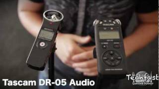 Zoom H1 vs Tascam DR-05: Audio Shootout & Comparison