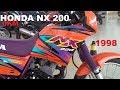 HONDA NX 200 = 300 KM RODADO = OKM = TREISKILOEMEI