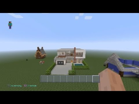 MINECRAFT HOUSE TUTORIAL!!! *modern house build*