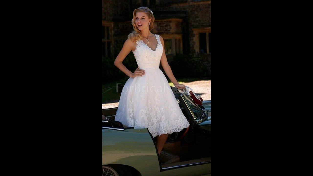 vestidos de novia para boda civil sencillos