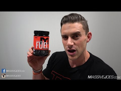 MTS Machine Fuel BCAA Intra-Workout Amino Acid Supplement Review MassiveJoes.com Raw Review