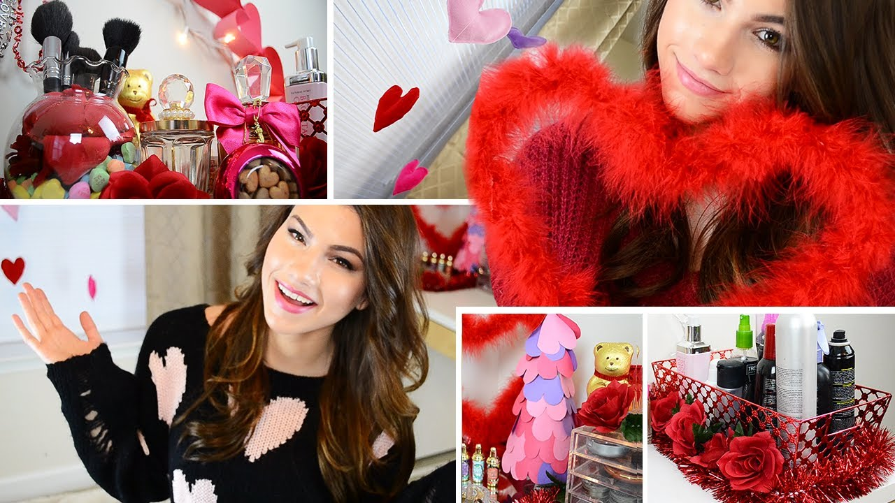 Diy valentine 39 s day room decorating ideas youtube - Valentine day room decoration ...