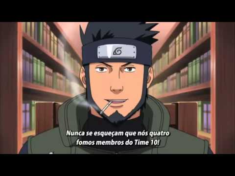 Shikamaru,Chouji e Ino Vs Asuma (Edo Tensei) - (Full Fight) - Legendado em PT-BR (HD)