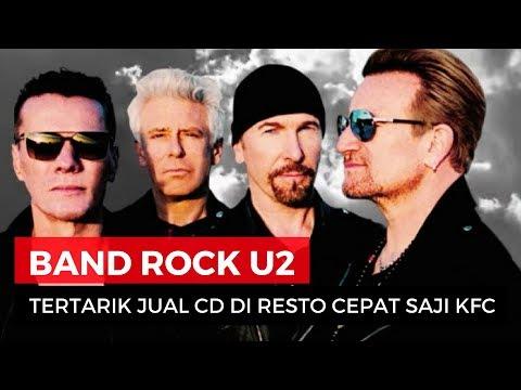 Band Rock U2 Tertarik Jual CD Di KFC Indonesia