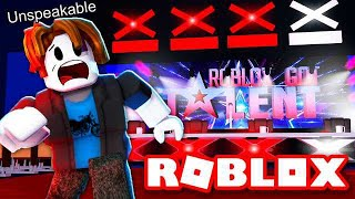 RUN FROM ROBLOX GOT TALENT OBBY