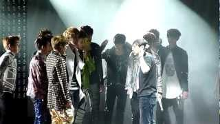 SMTOWN LA 2012 ~ EXO ~ HISTORY, MAMA @ DRESS REHEARSAL (ANAHEIM)