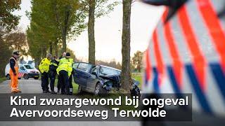 Kind zwaargewond bij ongeval Avervoordseweg Terwolde - ©StefanVerkerk.nl