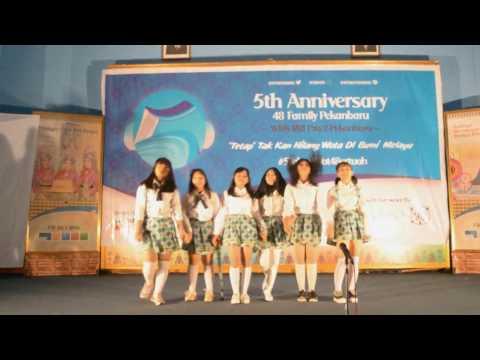 PKU48 Dance Cover - Ponytail to Shushu [JKT48] @ #5TahunWot48ertuah [080117]