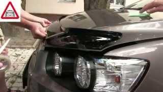 Дефлектор капота, установка (мухобойки) VIP Tuning на Chevrolet Aveo(Установка дефлектора капота (мухобойки) VIP Tuning. Заказать и получить консультацию по дефлекторам для авто,..., 2014-06-06T17:41:47.000Z)
