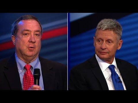 Gary Johnson and Bill Weld on Trump