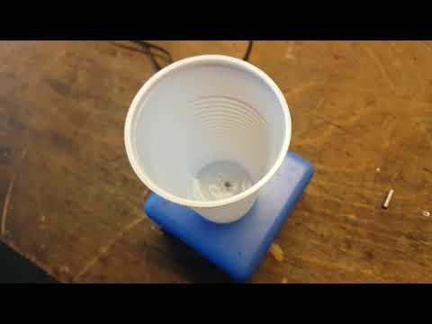 Einfacher Magnetrührer
