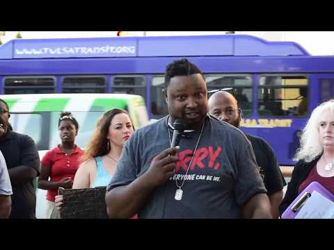 Justice for Terence Crutcher/Arrest Betty Shelby Rally