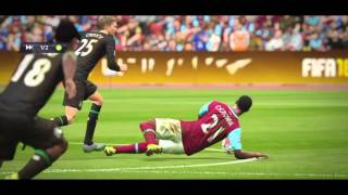 FIFA 16 | Peter Crouch vs Andy Carroll best moments :')