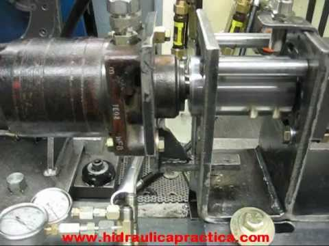 How to disassemble a parker hydraulic wheel motor doovi Hydraulic motor testing
