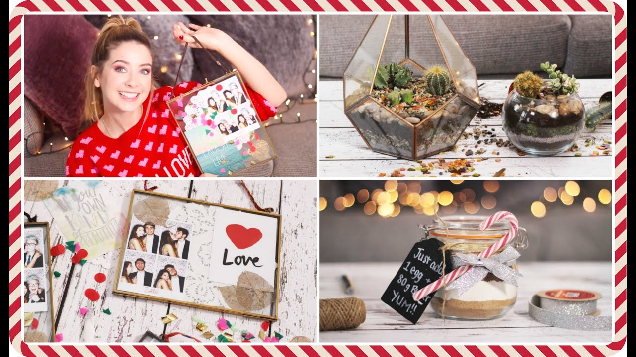 Last minute diy christmas gifts zoella youtube solutioingenieria