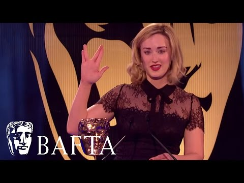 Ashley Johnson wins for Best Performer in The Last of Us  BAFTA Games Awards 2015